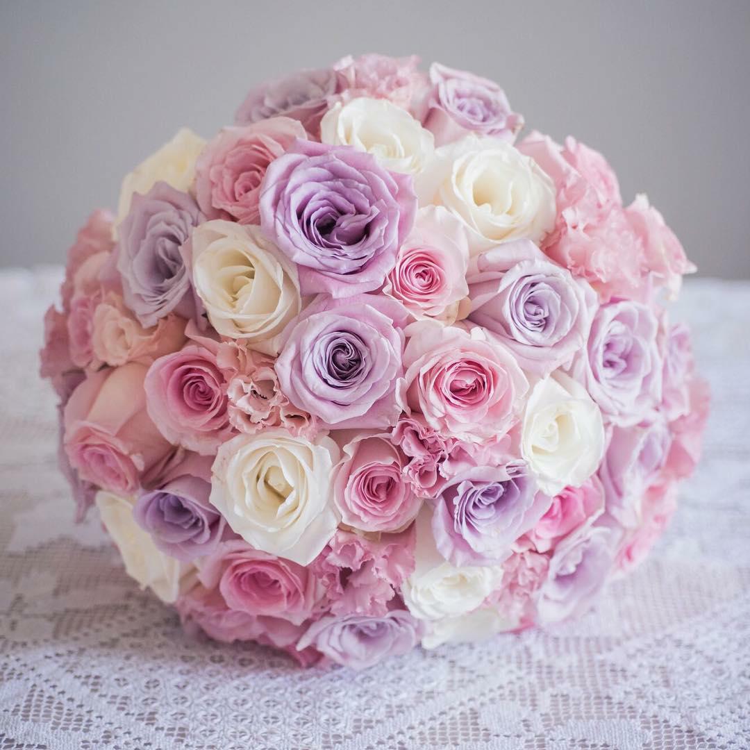 Bouquet de mariée ibiscus events